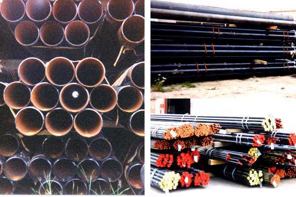 Pipe Yard Collage